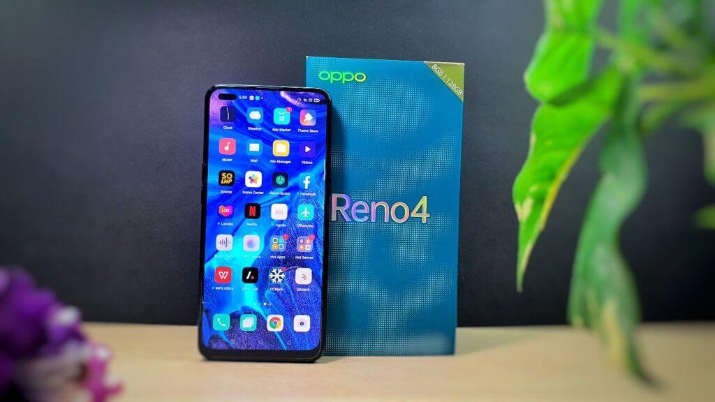 OPPO Reno 4  box