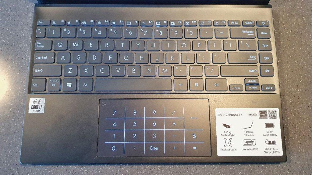 asus zenbook 13 ux325 keyboard
