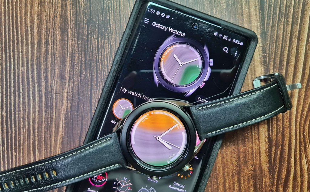 Galaxy Watch3 front