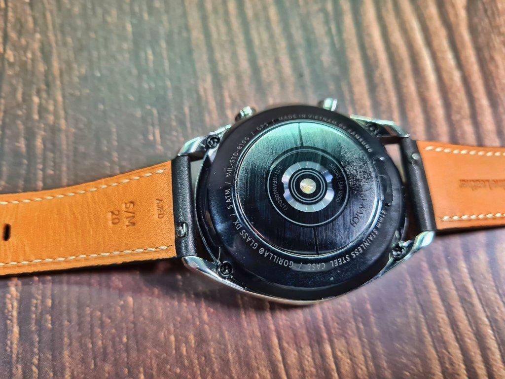 Galaxy Watch 3 underside