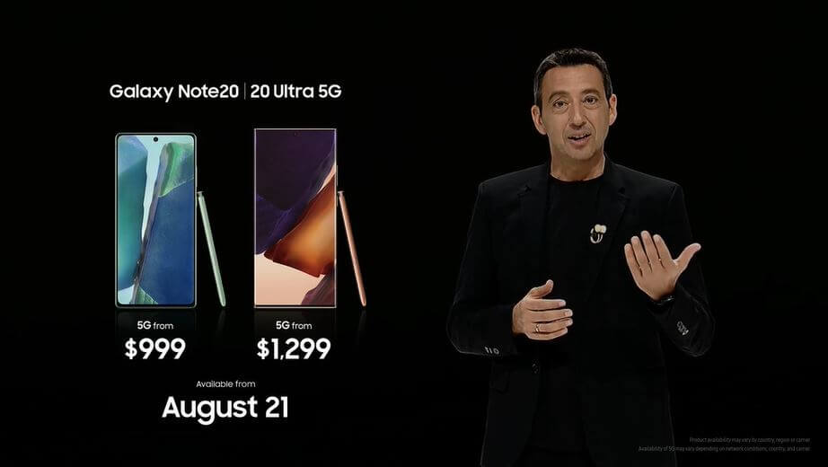 note20 ultra prices