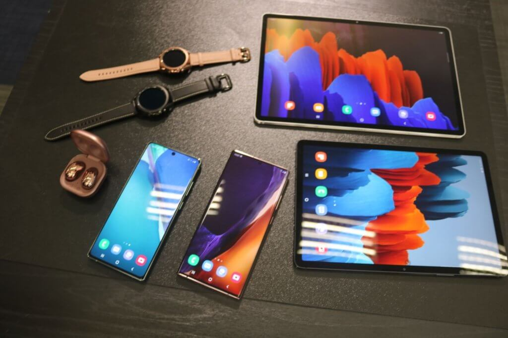 Galaxy Tab S7 devices