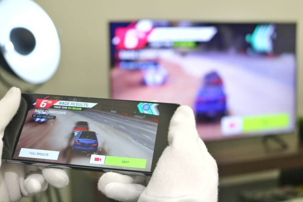 Galaxy Note20 Ultra 5G game