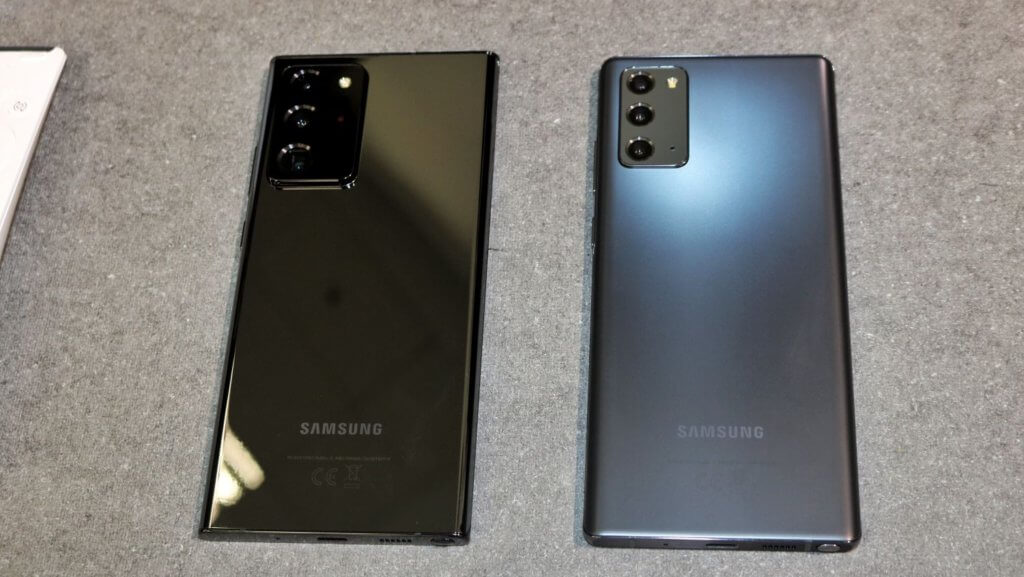 Galaxy Note20 and Note20 Ultra 5G