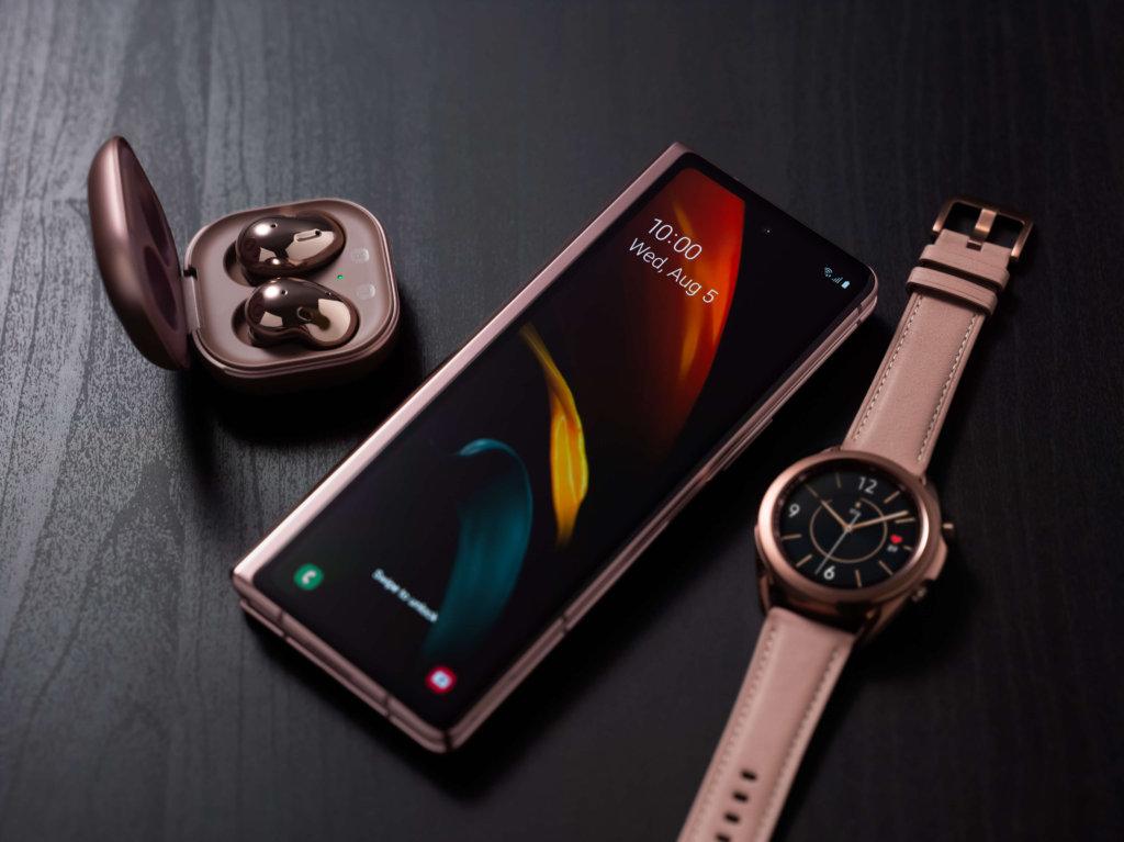 Samsung Galaxy Z Fold2 mystic bronze