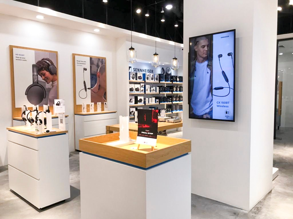 Sennheiser brand store at Lot 10 mall is now open to bring you the music 3