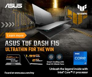 ASUS TUF Dash F15 3060