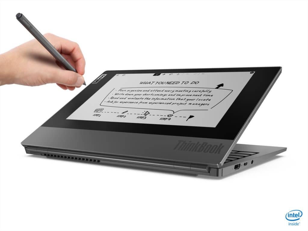 Lenovo ThinkPad Plus angled