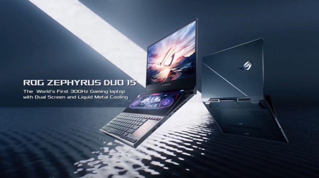 Zephyrus Duo 15 hero