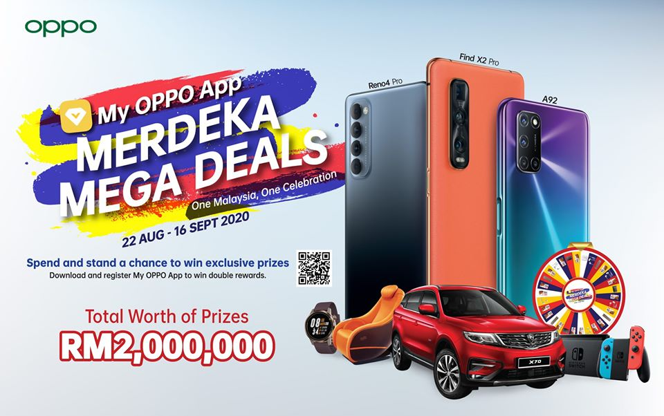 OPPO Merdeka Mega Deals have a sweet Proton X70 SUV up for grabs! 3