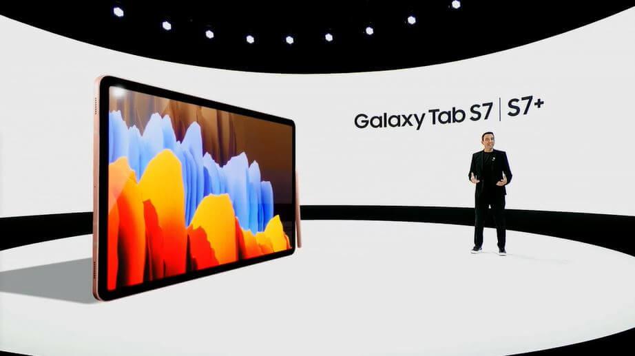 Galaxy Tab S7 launch