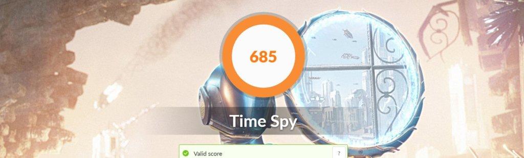 Asus zenbook Ux325 benchmark time spy