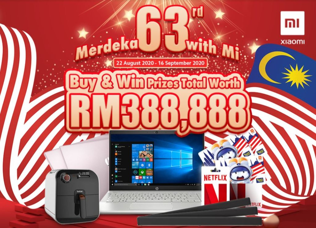 XIaomi Merdeka with Mi celebration offers in-store deals galore and prizes worth RM388,888 for Independence Day 3