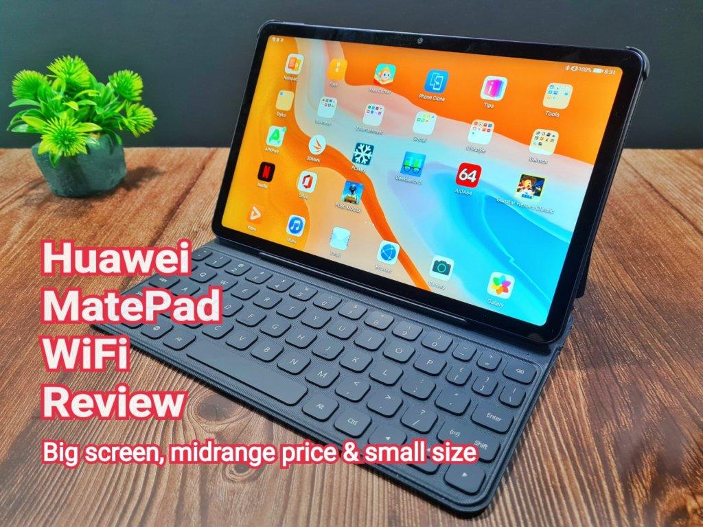 "Huawei MatePad WiFi Review - Big 10.4"" screen, midrange price and compact size 2"