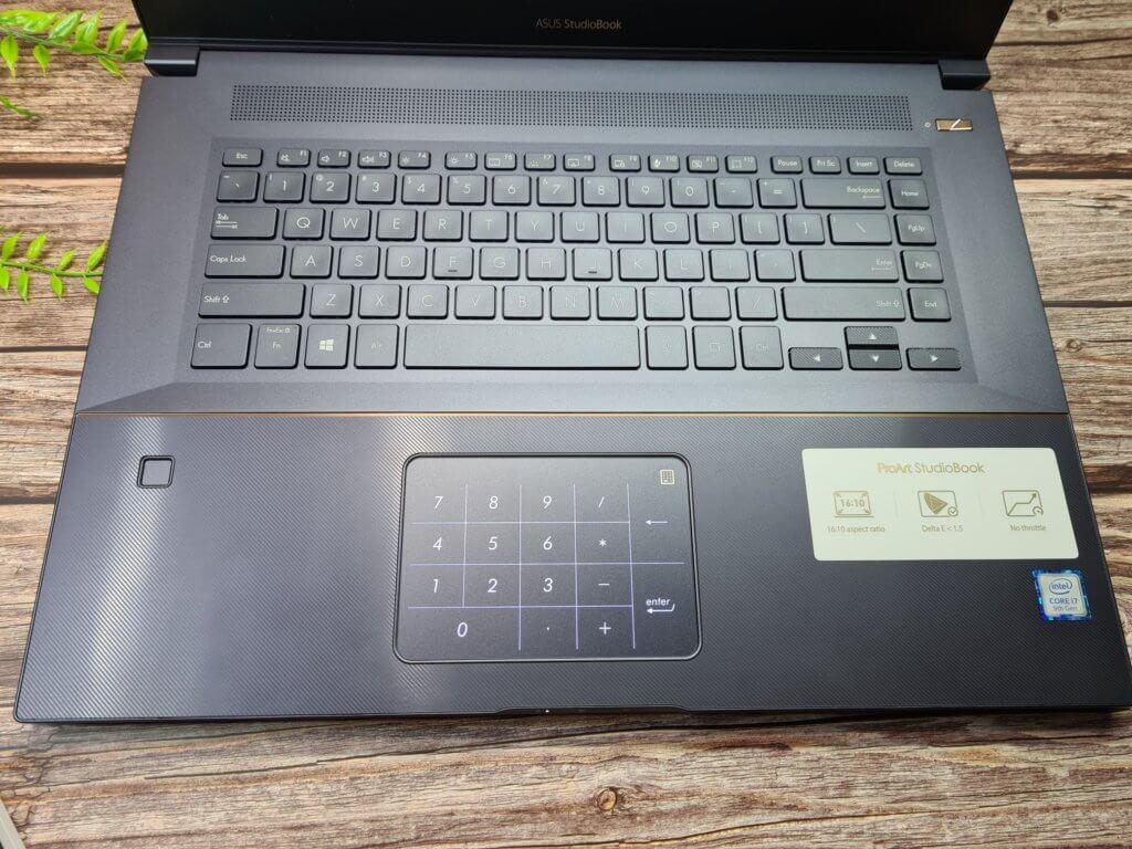 Asus ProArt W700 W700G2T keyboard