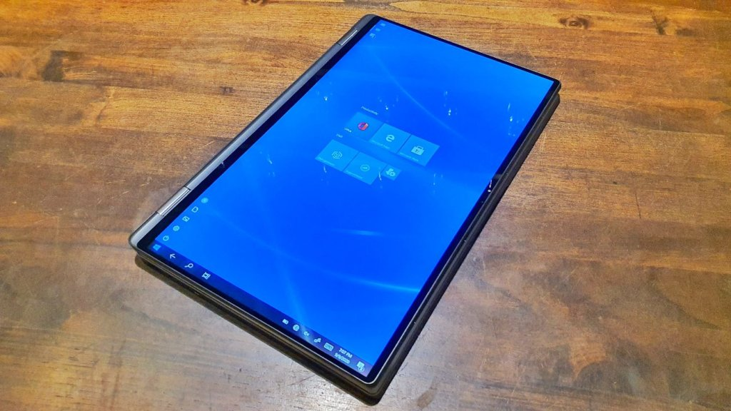 Dell Latitude 9510 2-in-1 tablet mode