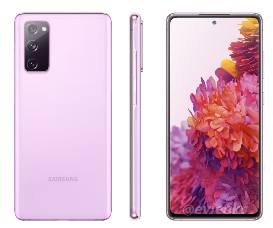 Galaxy S20 Fan Edition Leak pink