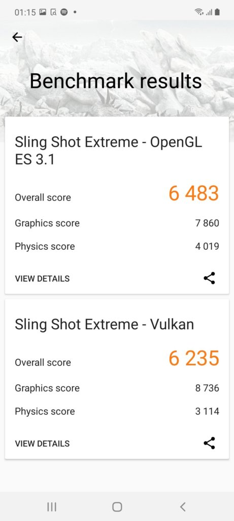 Samsung Galaxy Note20 5G Review 3dmark