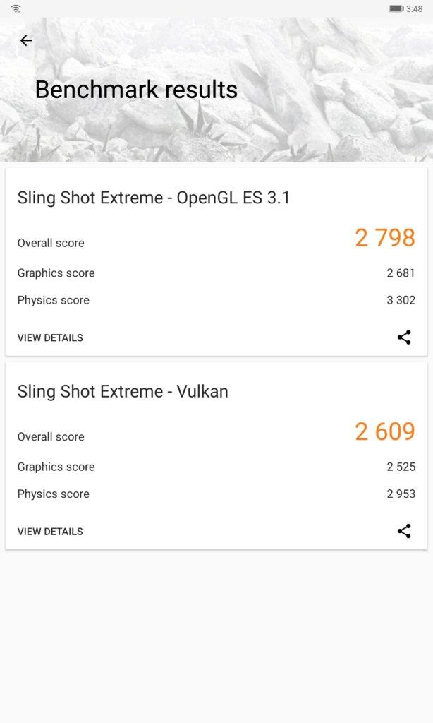 Huawei MatePad 3dmark