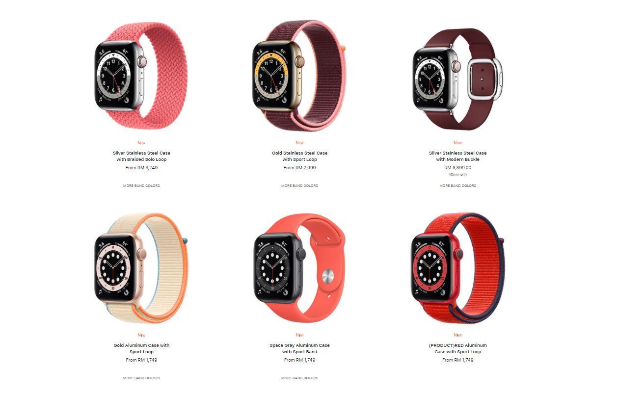 apple watch series 6 loops