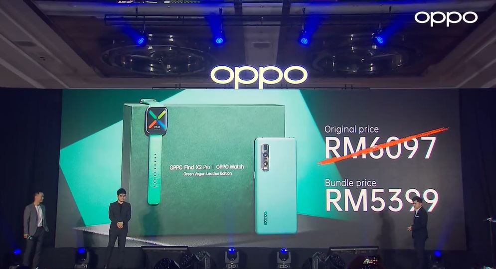 oppo find x2 green vegan leather price
