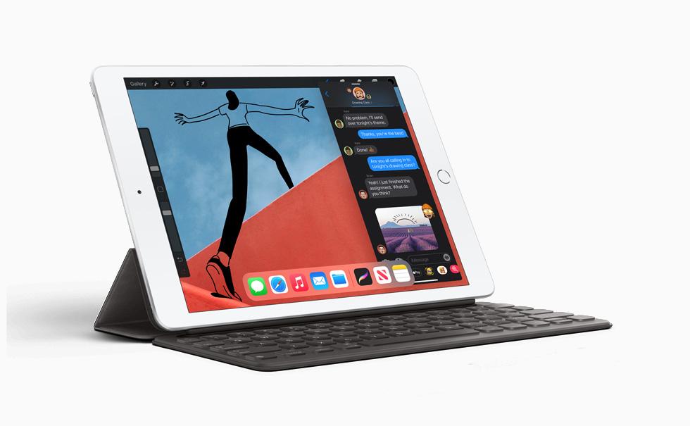 Apple 8th Gen iPad 10.2 hero