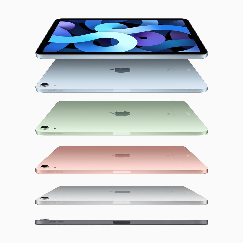 Apple iPad Air colours