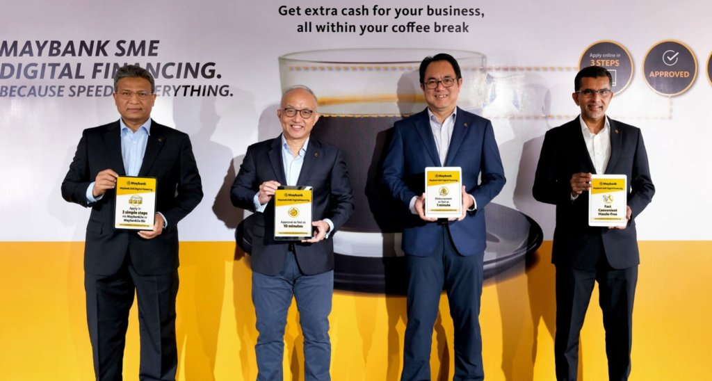 Maybank SME Digital Financing gets your loan approved in 3 steps and just 10 minutes online 4
