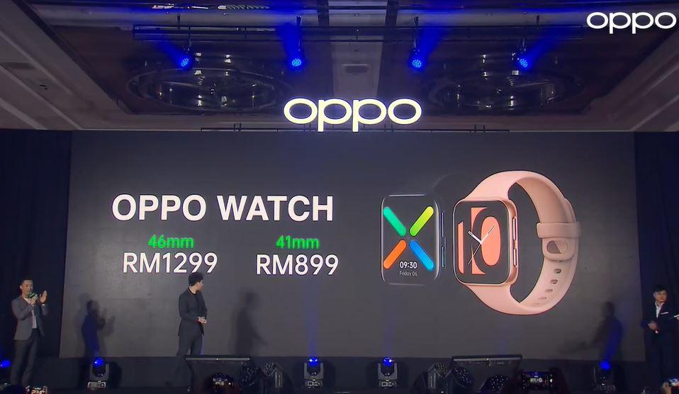 OPPO Watch feature recap