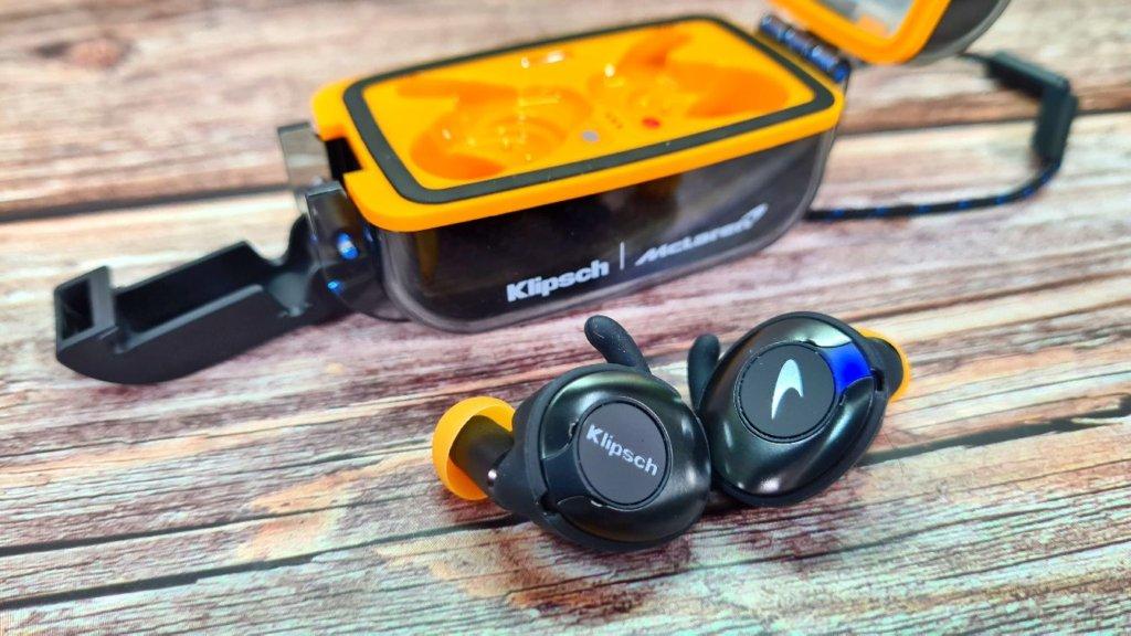Klipsch T5 II True Wireless Sport McLaren Edition review box open