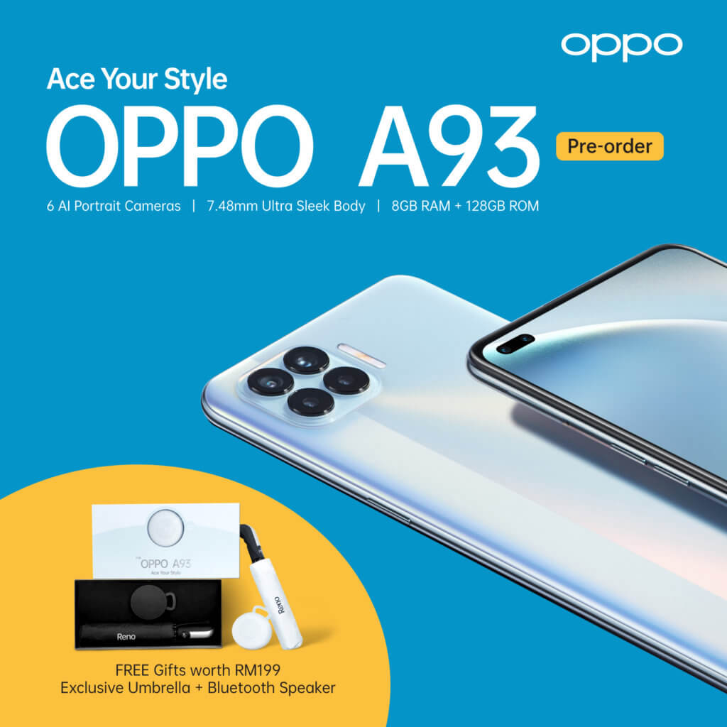 oppo a93 preorders