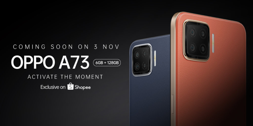 OPPO A73 midrange phone coming to Malaysia this 3rd November 2