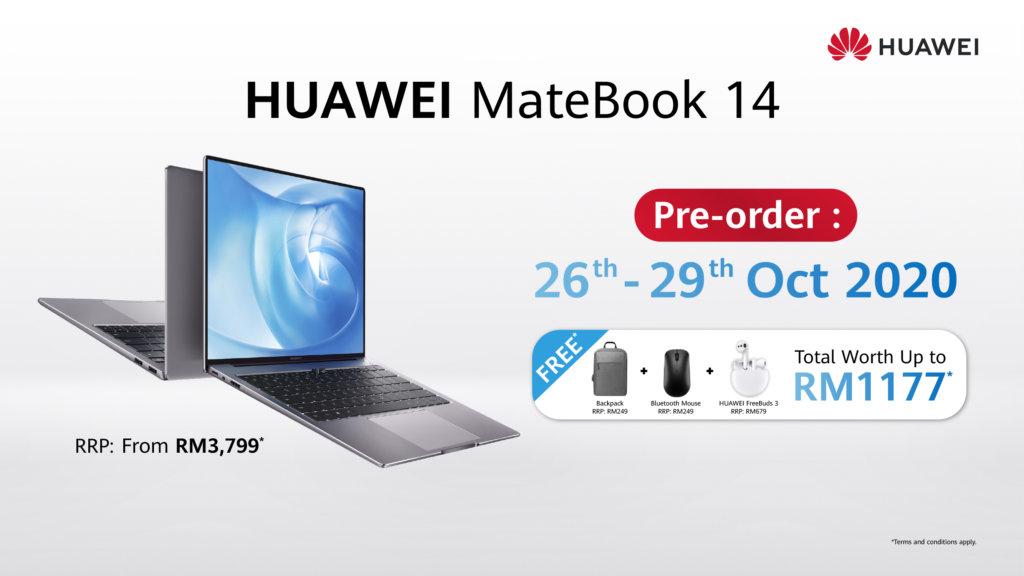 Huawei MateBook 14 2020 Price in Malaysia