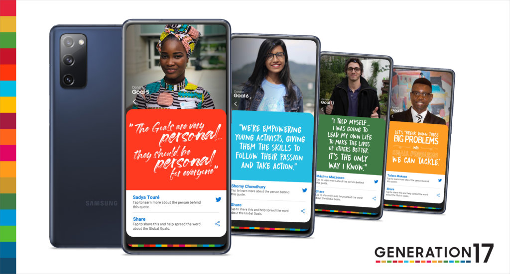 United Nations Development Programme and Samsung announce Generation17 plans for a better future for all 2