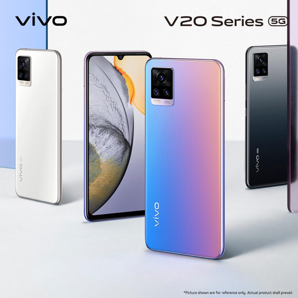 Vivo V20 and V20 Pro first look