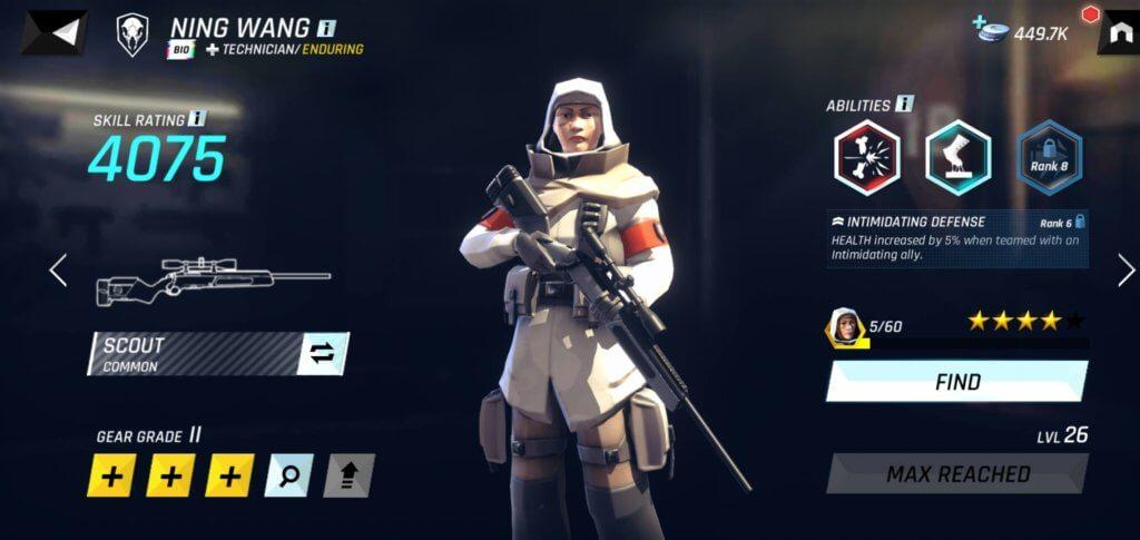 Tom Clancy's Elite Squad level up