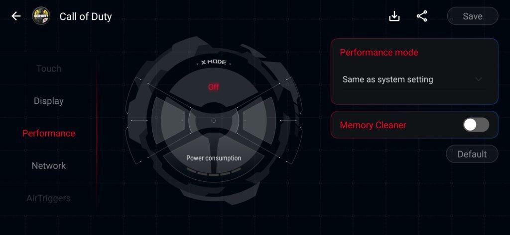 ROG Phone 3 tweak app