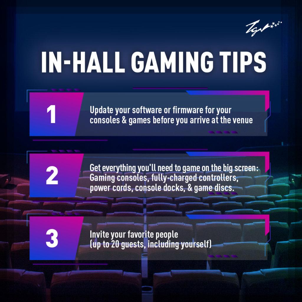 TGV cinemas tips