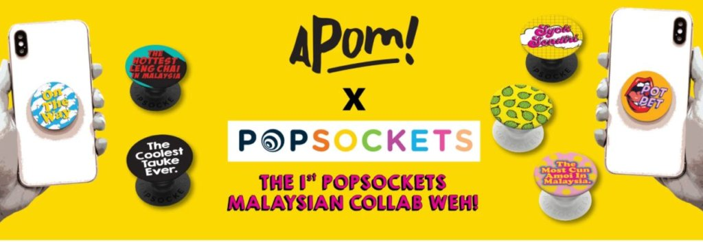 PopSockets in Malaysia apom
