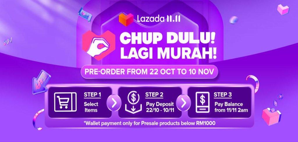 Lazada 11.11 sales chup