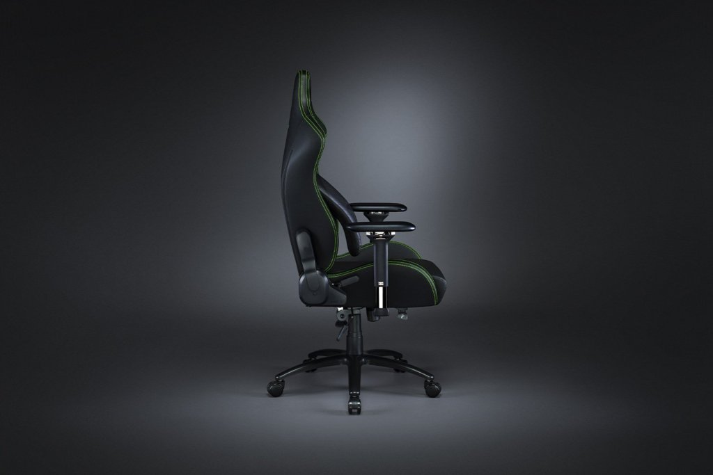 Razer Iskur gaming chair side view