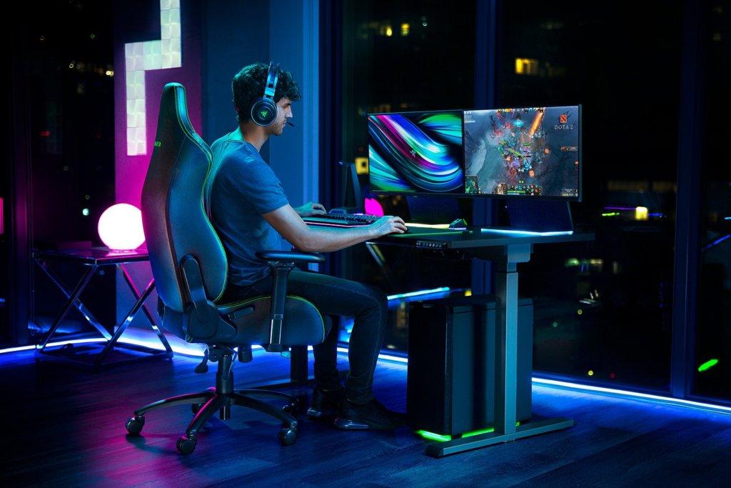Razer Iskur gaming chair rear
