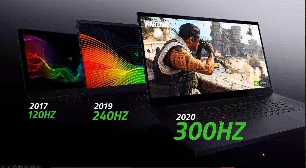 Razer Blade Pro 17 screens