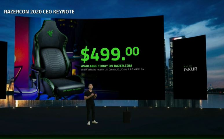 Razer Iskur gaming chair price
