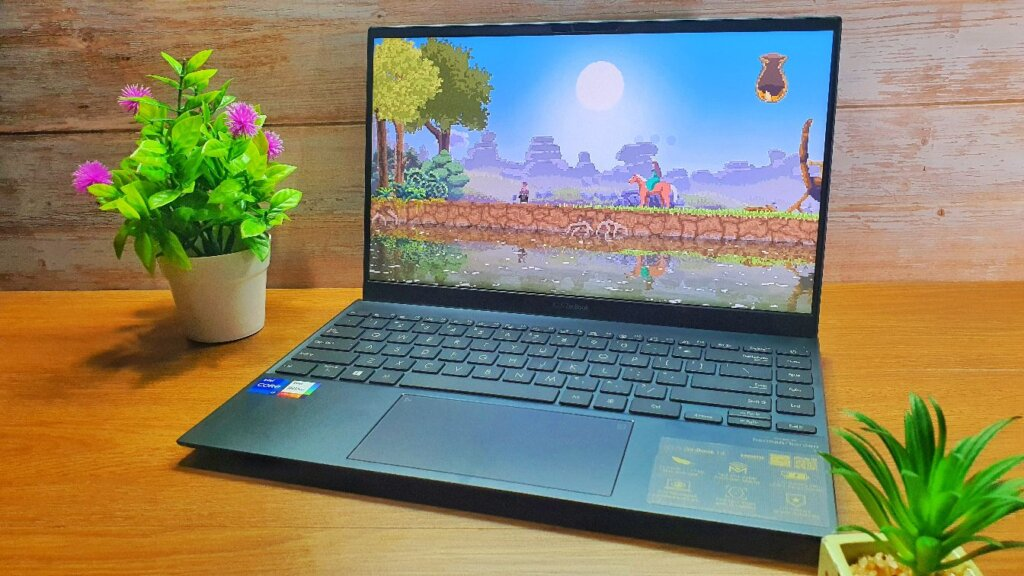 ASUS ZenBook 14 UX425E review game