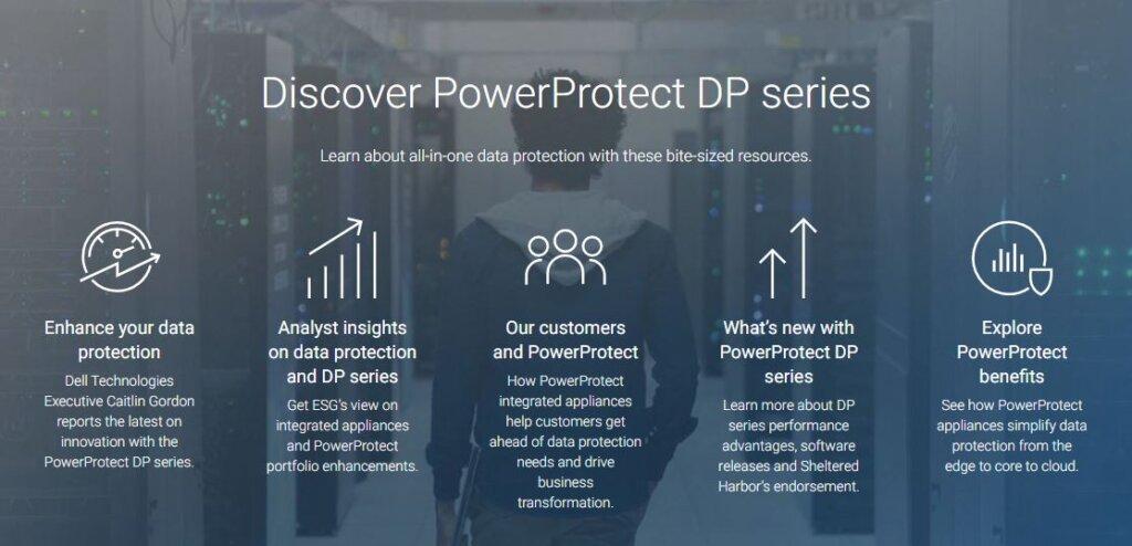 Dell EMC PowerProtect DP Series power protect 1