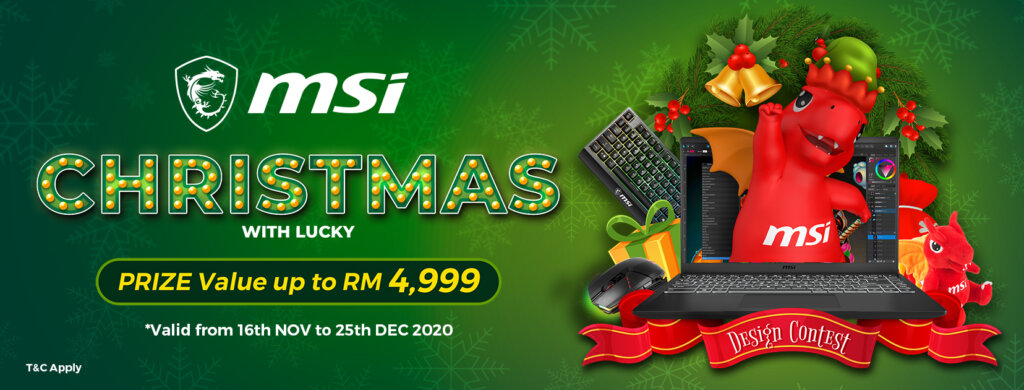 MSI Christmas Design Competition lets you win a posh Modern 14 laptop and more 1
