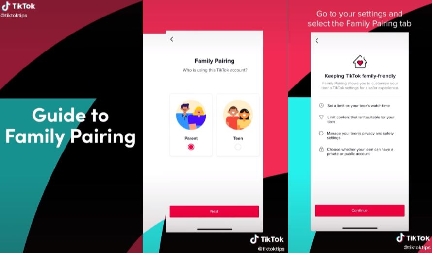TikTok now adds new Family Pairing features for better safety and security for families 1
