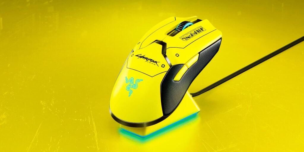 Razer Viper Ultimate Cyberpunk 2077 Edition rear