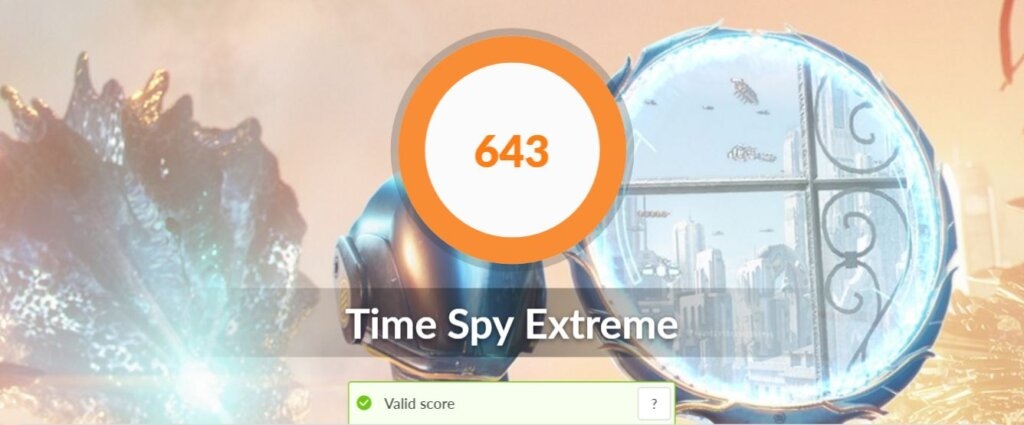 ASUS ZenBook 14 UX425E review time spy extreme